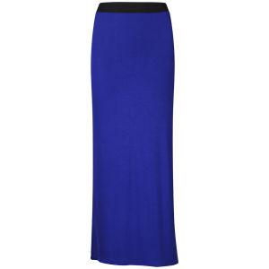 Influence Women's Jersey Maxi Skirt - Cobalt Blue