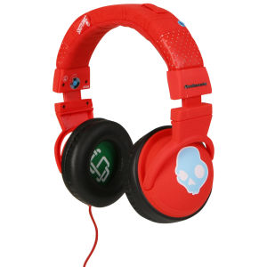 Skullcandy Hesh Headphones with Mic - Red