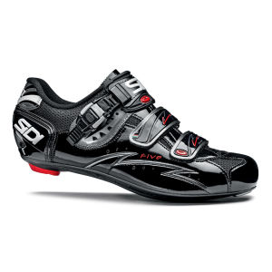 Sidi Five Vernice Mega Cycling Shoes - Black
