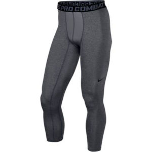 Nike Men's Core Compression Tight - Carbon Heather/Black
