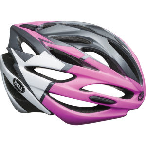 Bell Array Cycling Helmet White/Black/Pink L 58-63cm 2014