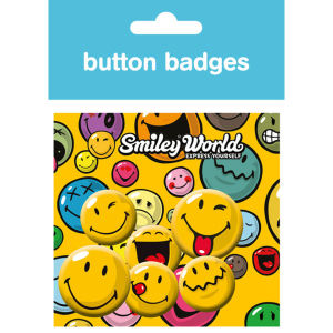 Smiley Expressions - Badge Pack