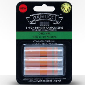 Gamucci Original pack of 3 Cartomizers - 1.1% Nicotine