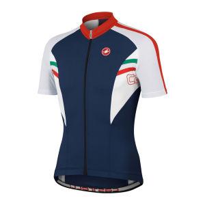 Castelli Men's Prima SS FZ Cycling Jersey