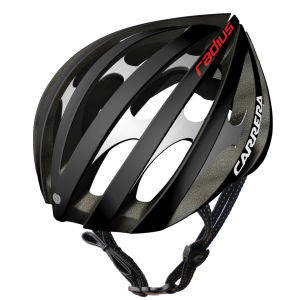 Carrera Radius 2014 Road Helmet - Matt Graphite Charcoal