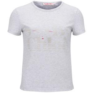 See by Chloe Women's Eye Print T-Shirt - Grey