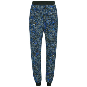 Vero Moda Women's Aya Printed Trousers - Blue