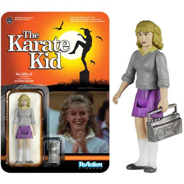 ReAction Karate Kid Ali 3 3/4 Inch Action Figure