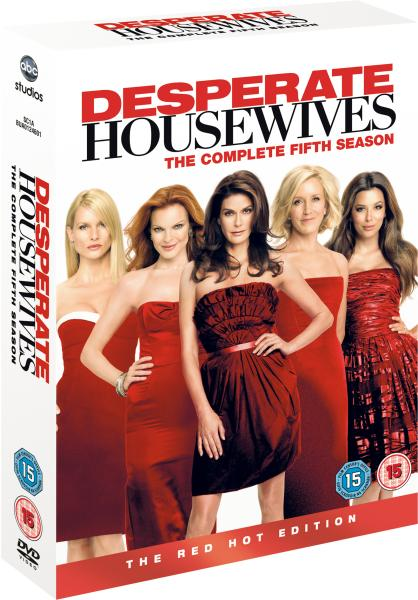 desperate housewives series 5 dvd. Black Bedroom Furniture Sets. Home Design Ideas
