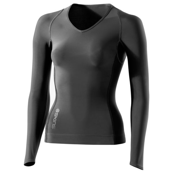 Skins RY400 Women s Compression Long Sleeve Top   Graphite   XL XLGrey