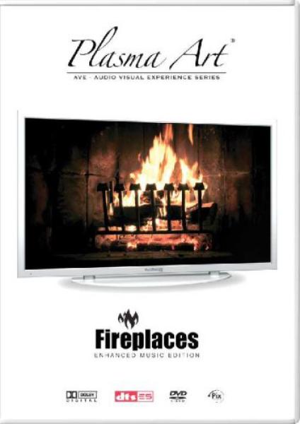 plasma art fireplace dvd