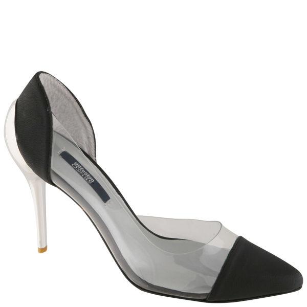 Senso Women's Yugo Stiletto Heels - Black/Clear