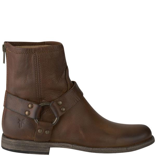 Frye Women's Phillip Harness Leather Boots - Cognac