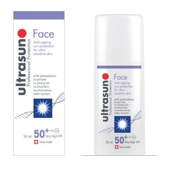 Ultrasun 50+ SPF Face (50ml)