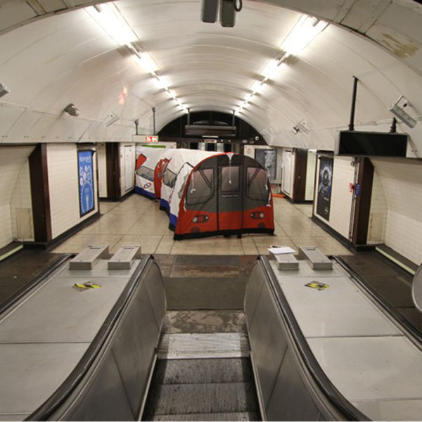London Underground Tube 20 Person Tent IWOOT
