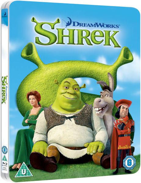 Shrek limited edition steelbook blu ray zavvi com