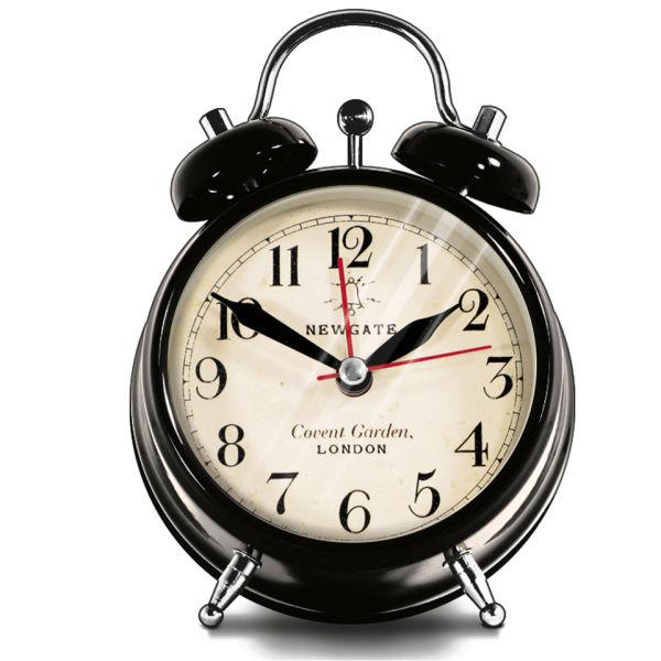 Newgate Covent Garden Small Clock - Black