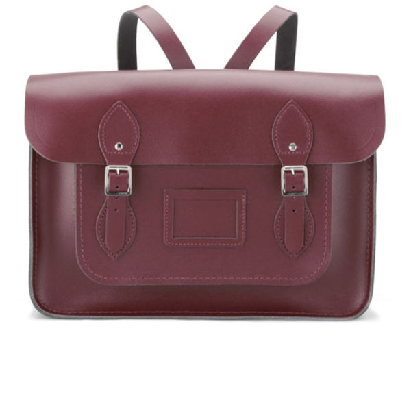 The Cambridge Satchel Company 15 Inch Leather Satchel Backpack - Oxblood