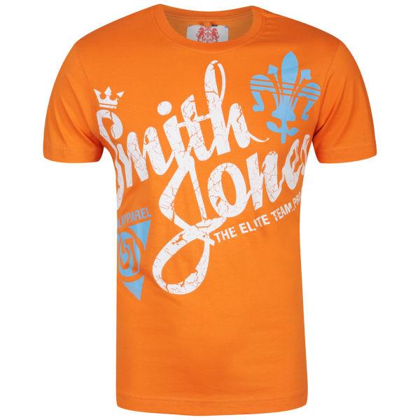 Smith Jones Men 39 S Barborous T Shirt Red Orange
