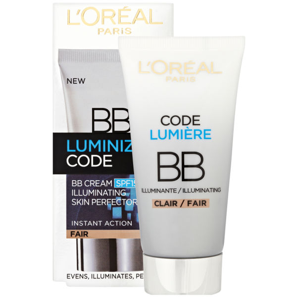 l 39 oreal paris youth code luminize code bb cream spf15. Black Bedroom Furniture Sets. Home Design Ideas