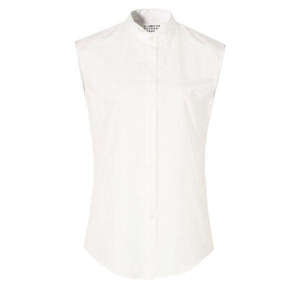Maison Martin Margiela Women's S31DL0177 S37105 Shirt - White