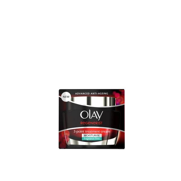 Olay Regenerist 3-pointTreatment Cream (Fragrance Free) (50ml)
