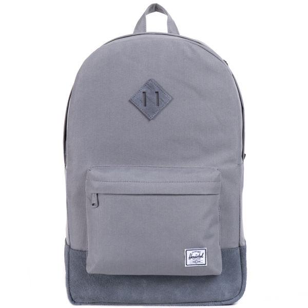Herschel Supply Co. Heritage Suede Backpack - Grey
