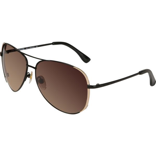 MICHAEL MICHAEL KORS Sicily Aviator Sunglasses - Black
