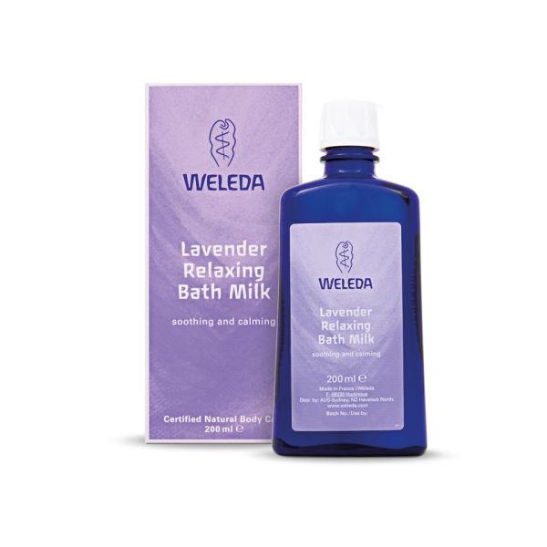 Weleda Lavender Relaxing Bath Milk (200 ml)