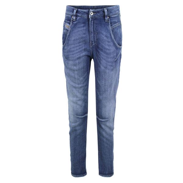 Diesel Women's Fayza Boyfriend Fit Jog Jeans - Light 800H