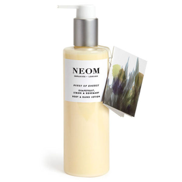 NEOM Organics Burst of Energy Body and Hand Lotion