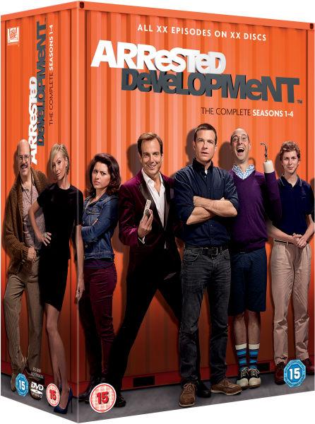 Arrested Development - Seasons 1-4