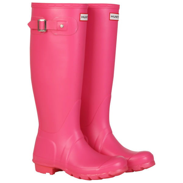 Hunter Women's Original Tall Wellies - Fuchsia