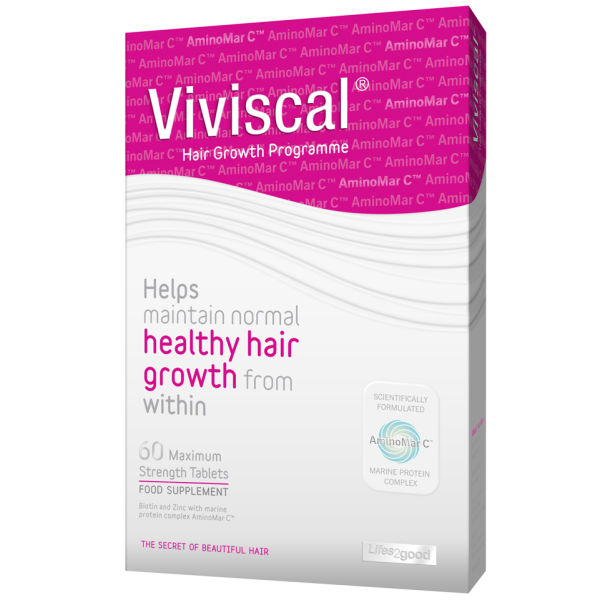 Viviscal Maximum Strength 1 Month Supply 60 Tabs Health