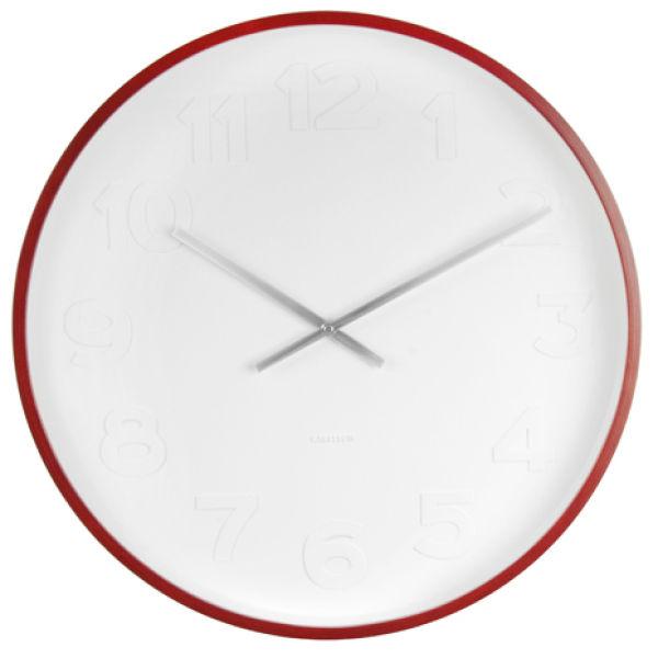 Karlsson Wall Clock Mr White Homeware Thehut Com