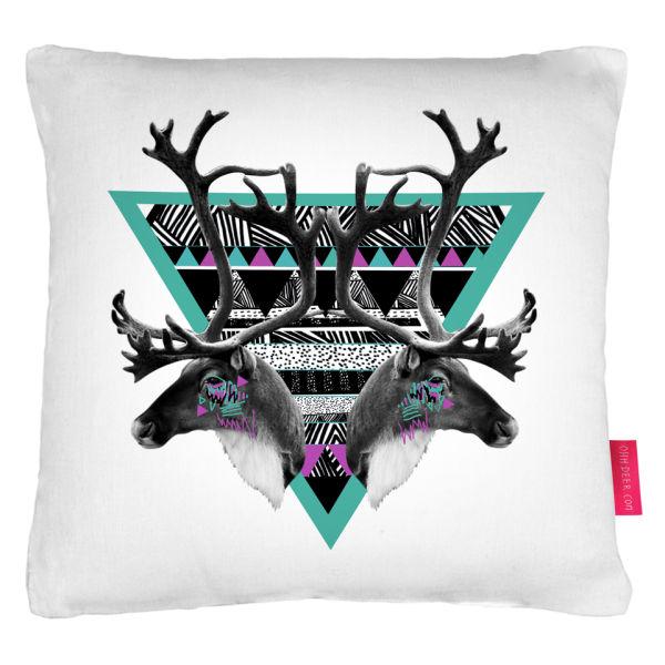 Ohh Deer Caribou Cushion