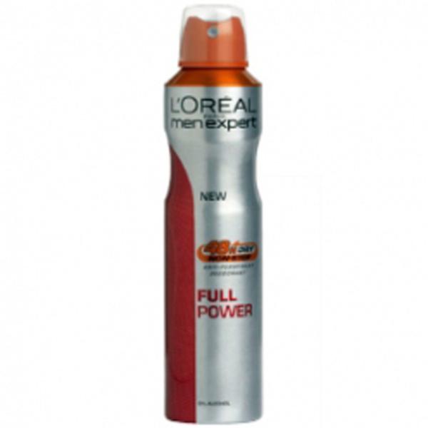 L'Oreal Paris Men Expert Full Power Spray Déodorant (250ml)
