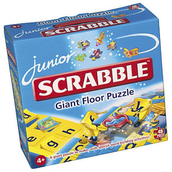Junior Scrabble Giant Floor Puzzle Toys