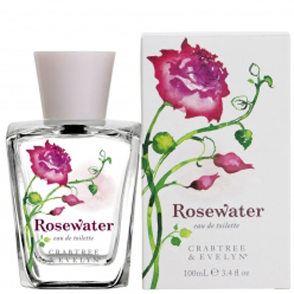 Eau de Toilette Rosewater de Crabtree & Evelyn Rosewater (100 ml)