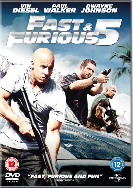 fast and furious 5 dvd. Black Bedroom Furniture Sets. Home Design Ideas