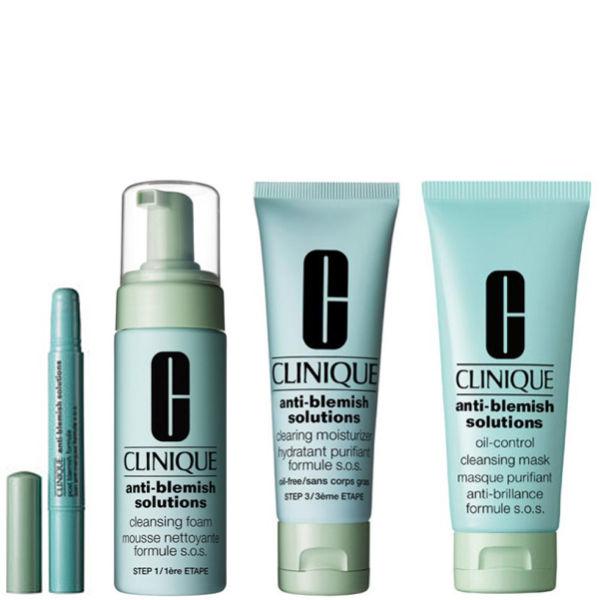 clinique anti blemish complete kit bundle free uk delivery. Black Bedroom Furniture Sets. Home Design Ideas
