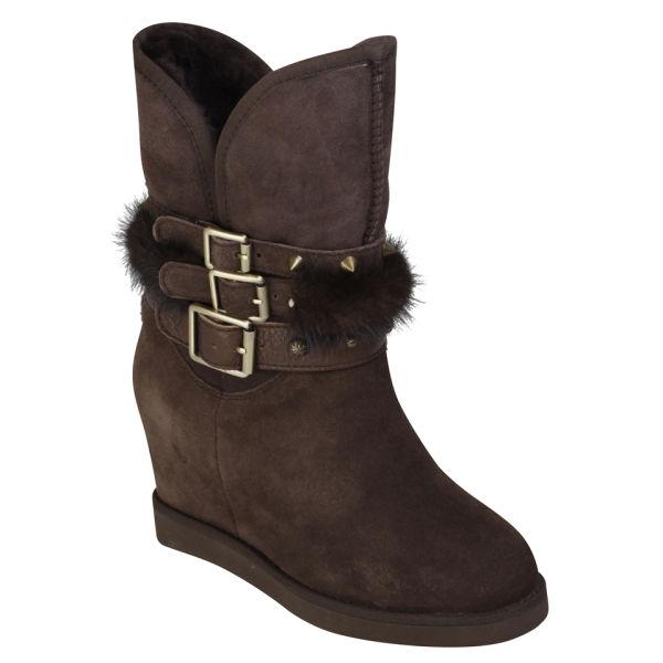australia luxe s hatchet wedge boots beva free