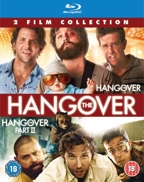 The Hangover / The Hangover Part 2 Blu-ray