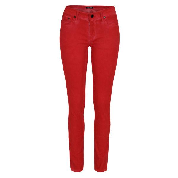 Denham Women's Cleaner FDS Torch Skinny Jeans - Red