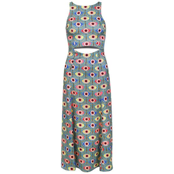 Mara Hoffman Women's Waist Cut Out Dress - Iris Blue
