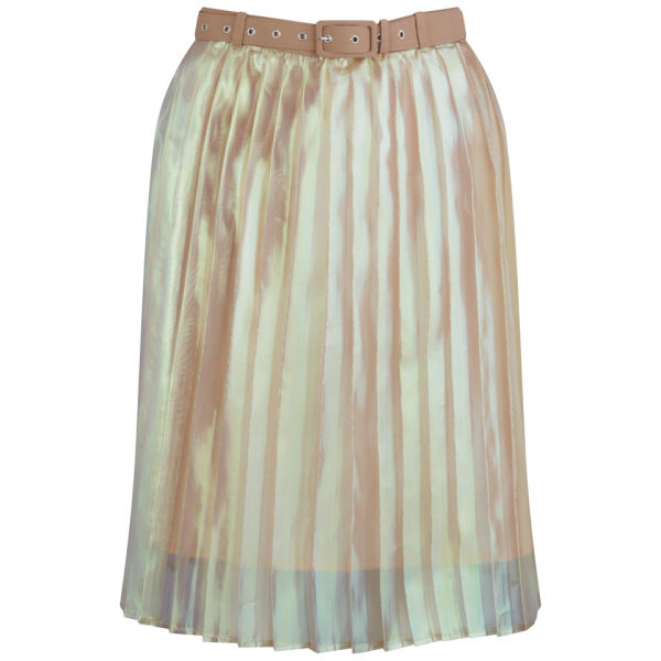 Antipodium Women's Hot Knife Skirt - Iridescent Pink Sand