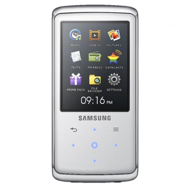 Samsung Q2 4GB MP3 Player - White (SAMQ2WH4G) Electronics ...