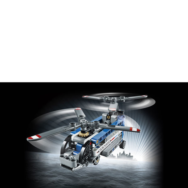 lego technic twin rotor helicopter 42020 iwoot. Black Bedroom Furniture Sets. Home Design Ideas