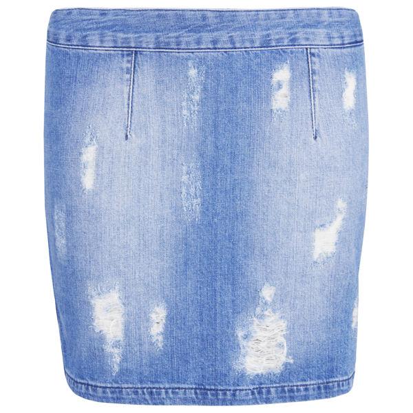 Gestuz Women's Scarlett Skirt - Denim Blue