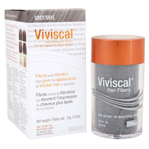 Viviscal Fibres capillaires volumisantes - Gris (15g)